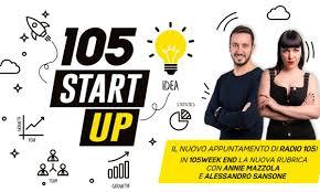 locandina intervista su radio 105
