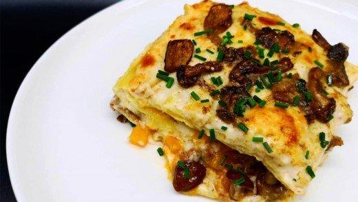 preview della video ricetta: Lasagne autunnali